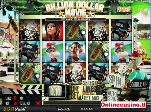 videoslot billion dollar movie