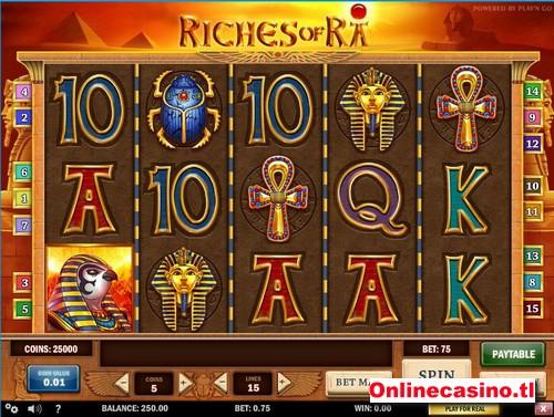 videoslot riches of ra