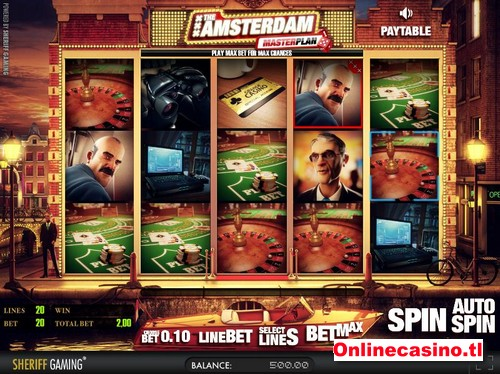 videoslot the amsterdam masterplan