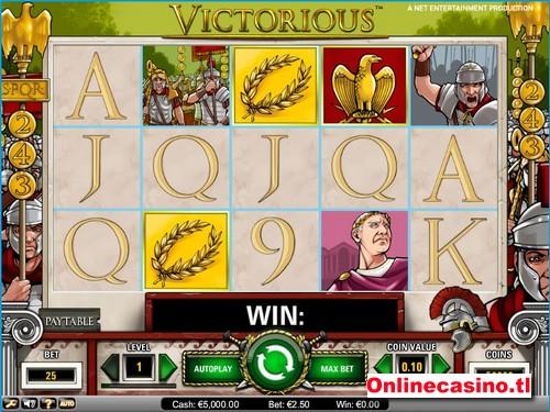 videoslot victorious