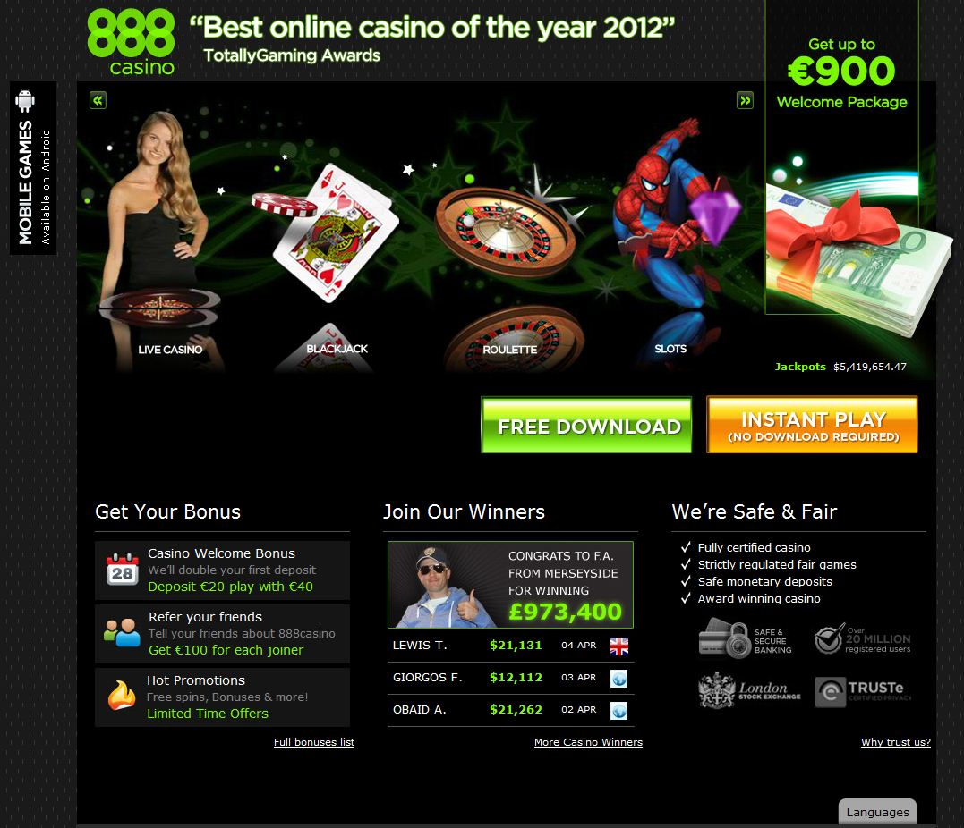 online casino 888 starbrust