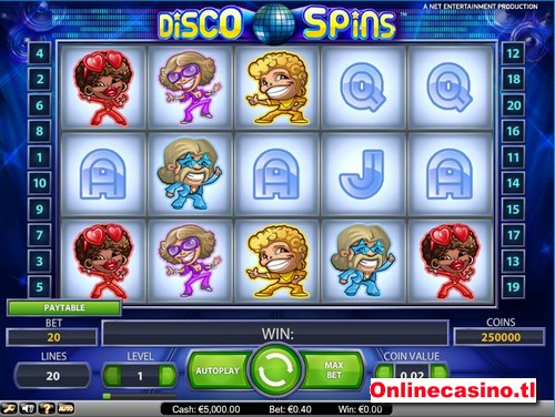 videoslot disco spins
