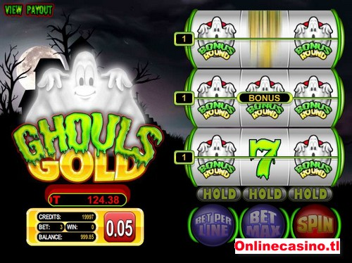 videoslot ghouls gold