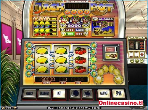 videoslot jackpot 6000