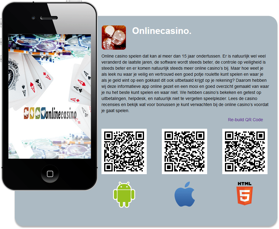 Qr-codes onlinecasino