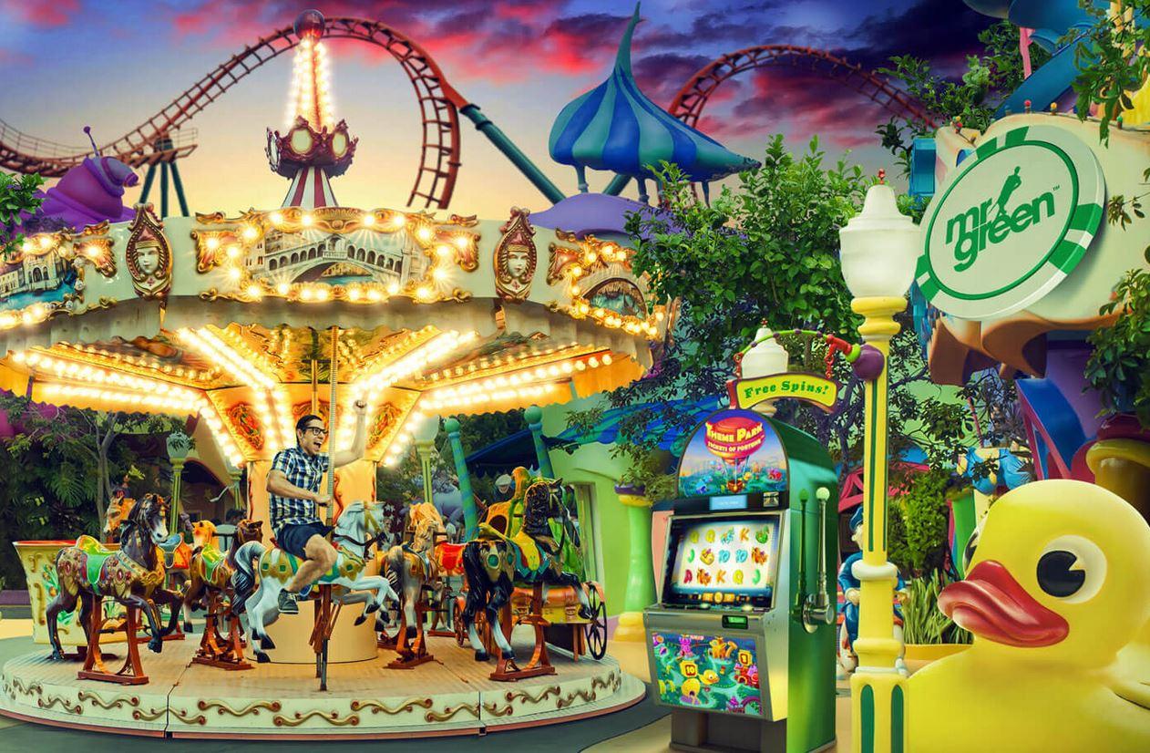 Theme Park bonus bij Mr Green Casino online
