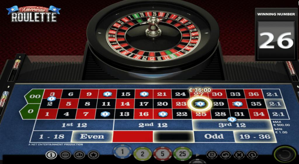american roulette omnislots