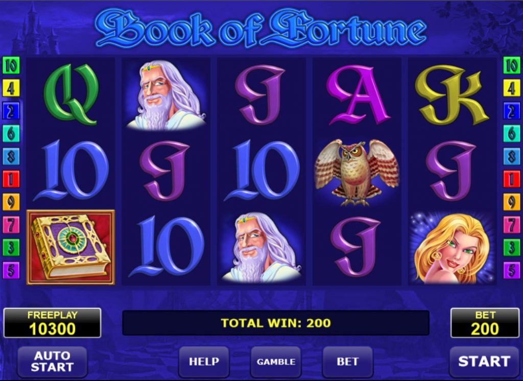 Book of Fortune slot Omnislots