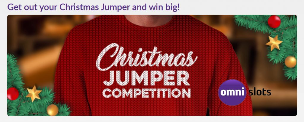 Christmas jumper Omnislots 2