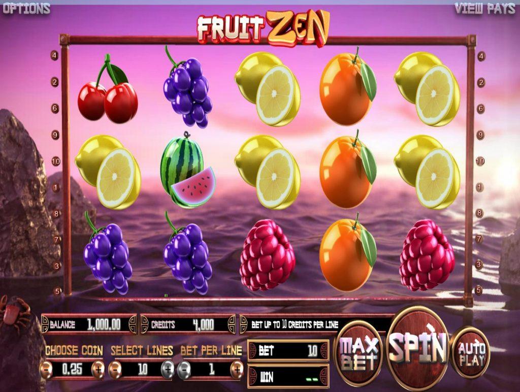 FruitZen slot ReelTastic Casino