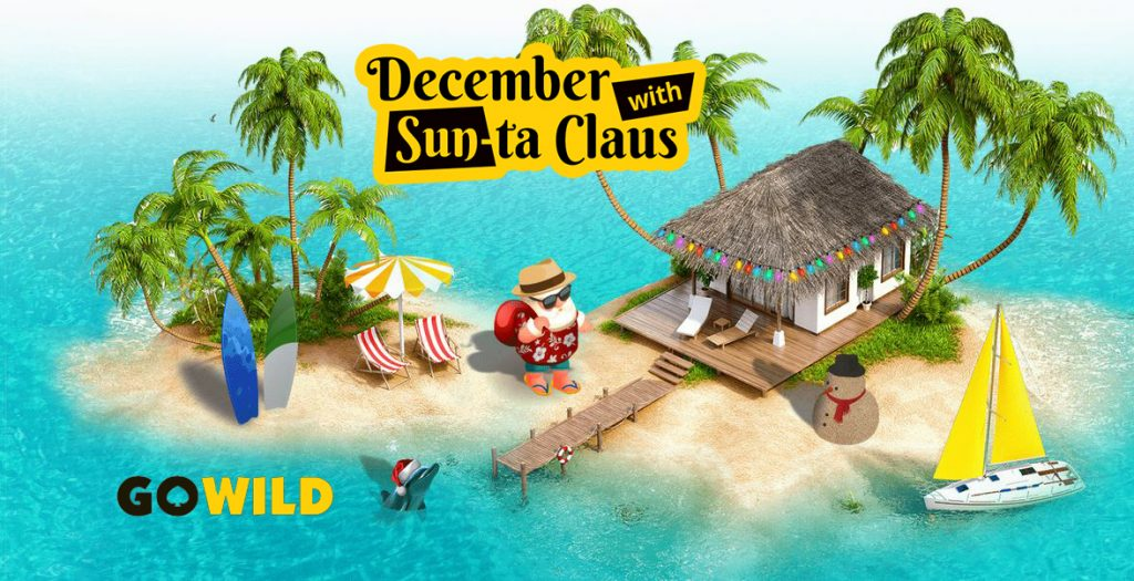 GoWild Christmas promotion