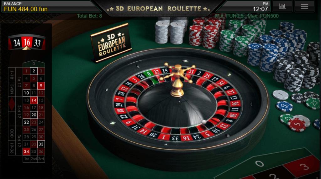 Roulette Reeltastic Casino