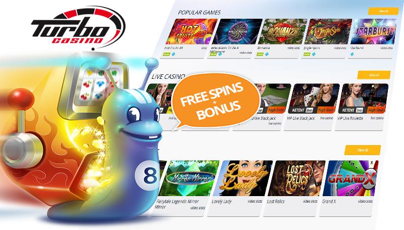 Turbocasino free spins bonus