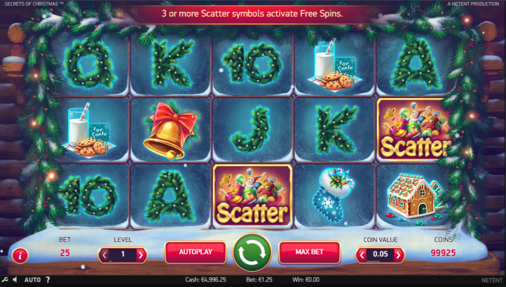 secrets of christmas slot omnislot