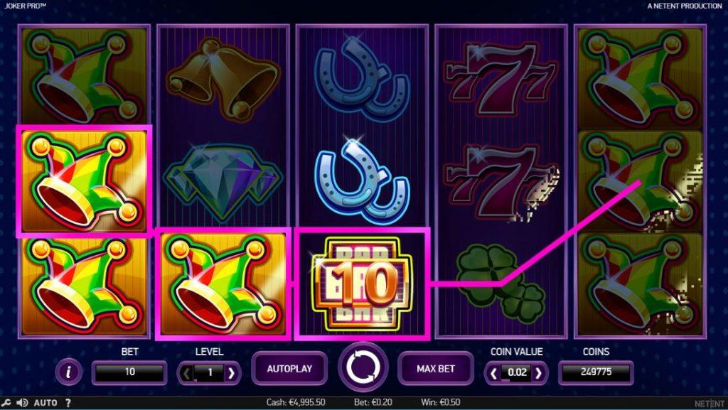 JokerPro slot Eskimo Casino