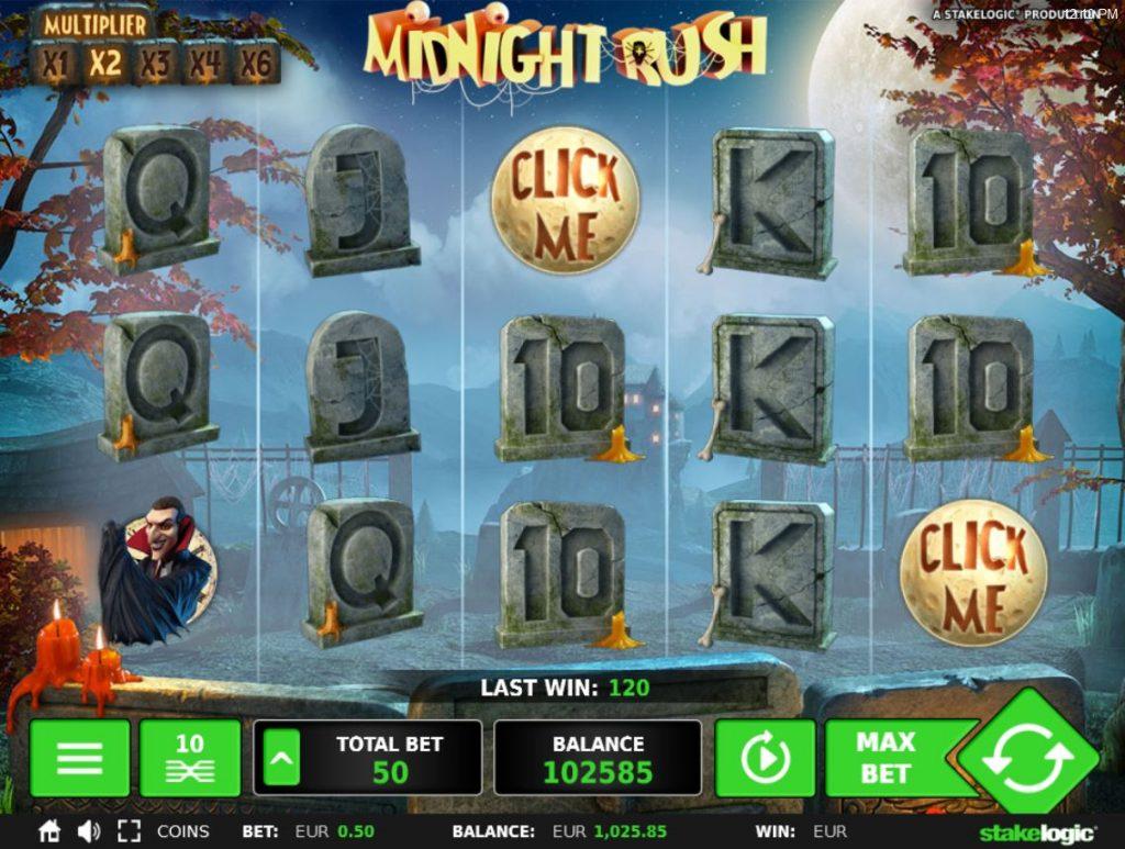 Midnight Rush slot Turbo