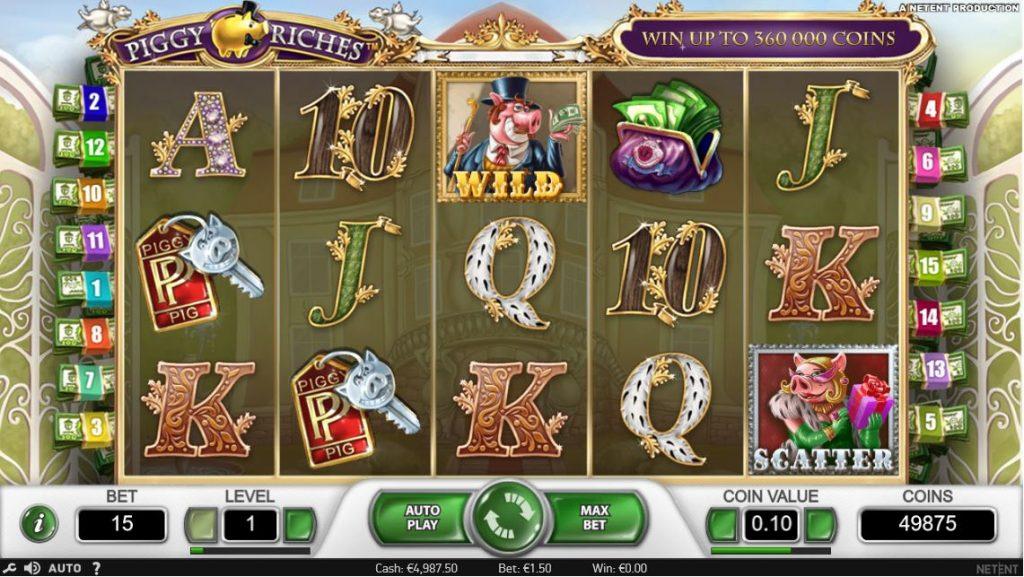 Piggy Riches slot Turbo casino