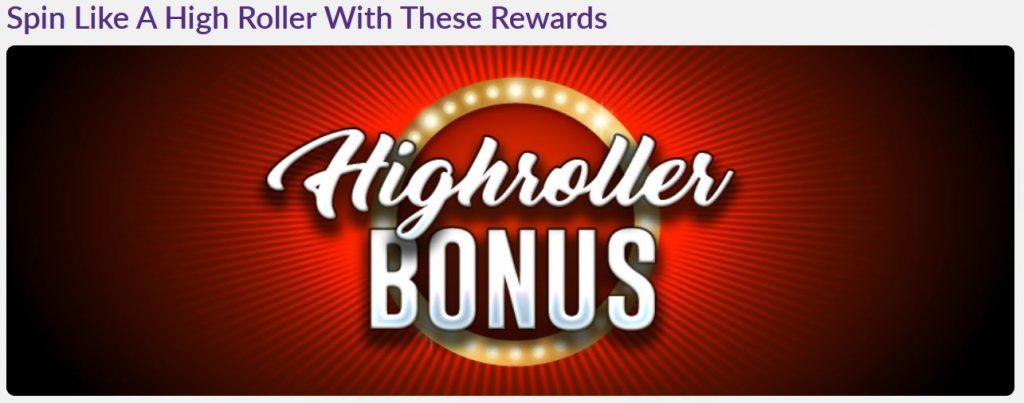 Promo High Roller Bonus Omnislots