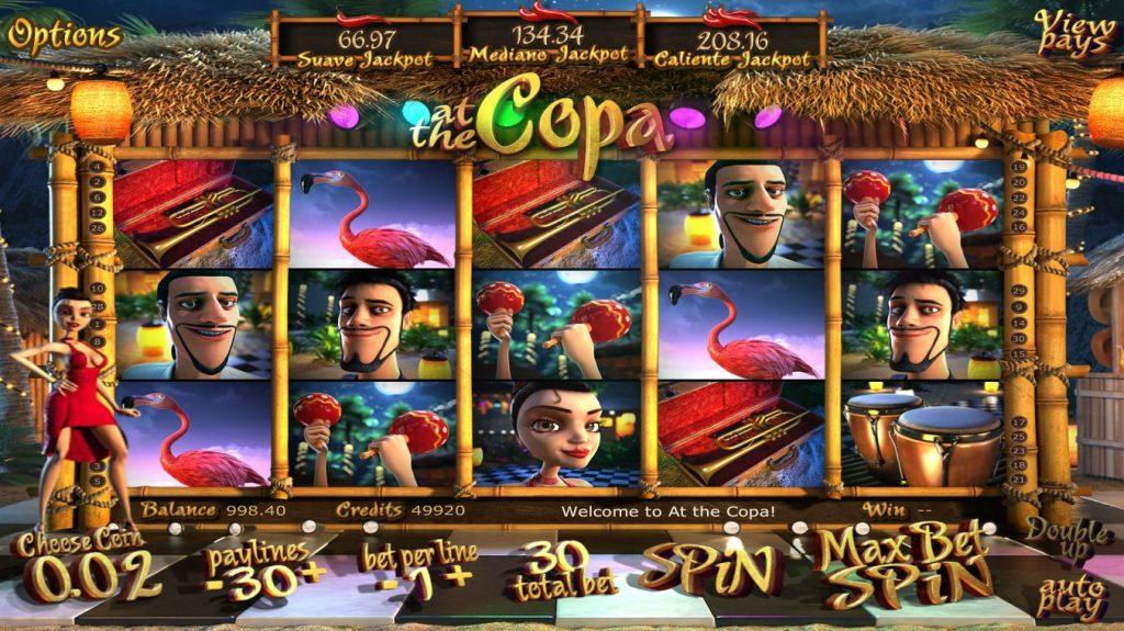 At the Copa slot Omnislots