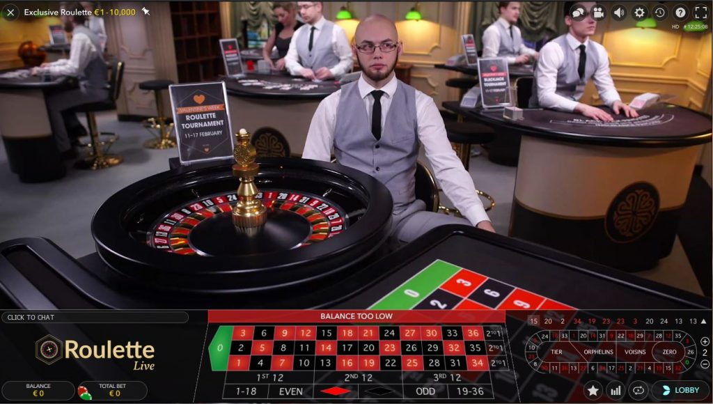 Live Exclucieve Roulette Betsson