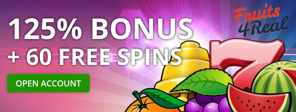 Bonus Fruits4Real Casino
