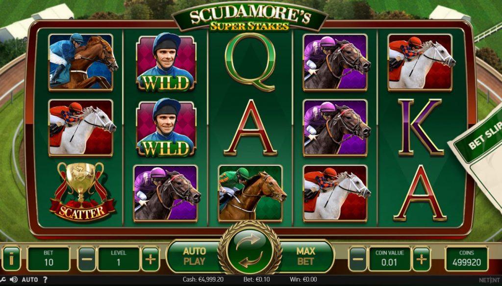Scudamore's Super Stakes Omnislots