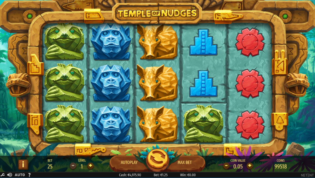Temple of Nudges Eskimo Casino