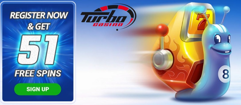 51 free spins Turbo Casino
